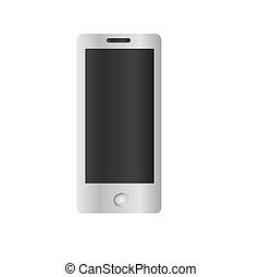 Smartphone model illustration