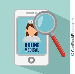 smartphone online medical search app