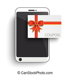 Smartphone Paper Coupon