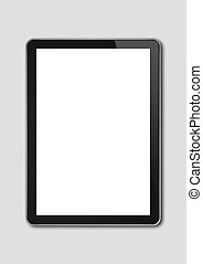 smartphone, pc, tablette, grau, freigestellt, schablone, digital