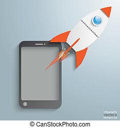 Smartphone Rocket