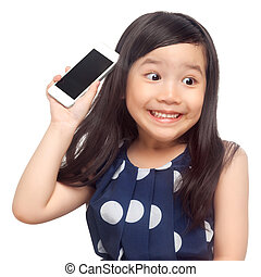 smartphone, snopen, unge