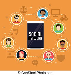 smartphone social network community app