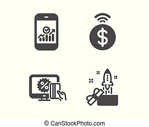 Smartphone statistics, Online shopping and Contactless...