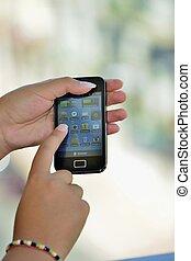 Smartphone - Funzione touchscreen di uno smartphone