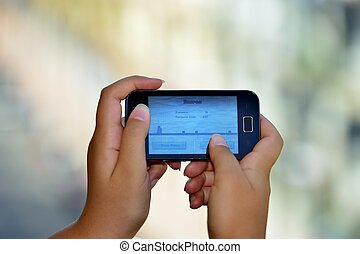 Smartphone - Smanettando con uno smartphone