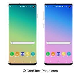 smartphone, téléphone portable