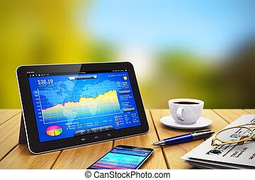 smartphone, tableta, empresa / negocio, de madera, otro,...