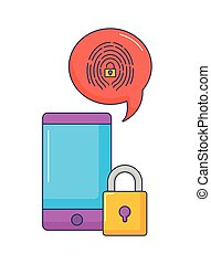 smartphone technology security data system