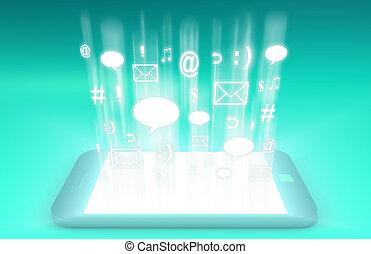 smartphone, tecnologia