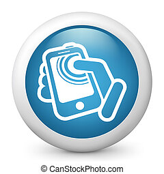 Smartphone touch screen