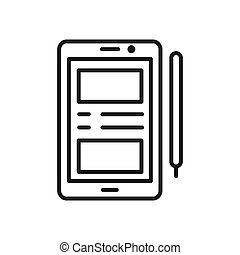 smartphone vector illustration design
