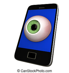 Smartphone With Eye
