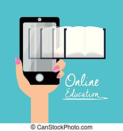 smartphone with knowledge to leard and study