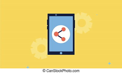 smartphone with search engine optimization