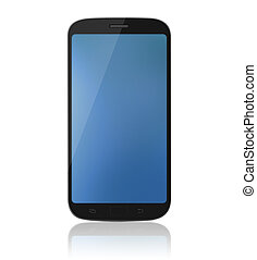 smartphone, xl, -, /, telefono cellulare