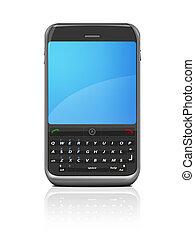 smartphone, xl, -, /, telefono cellulare, pda