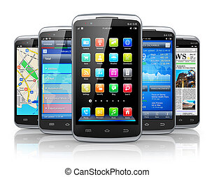Smartphones and applications - Mobility and modern wireless...