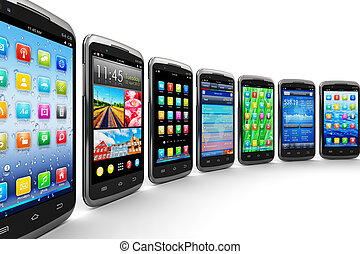 smartphones, et, mobile, applications