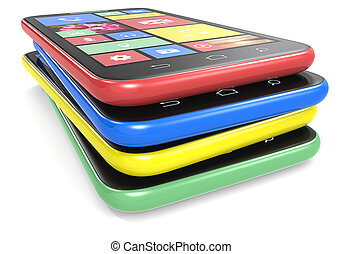 Smartphones.