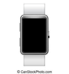 smartwatch, em branco