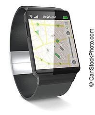 smartwatch, gps