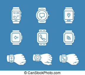Smartwatch icons