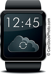 Smartwatch synchronising
