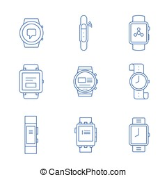 Smartwatches - wearable technology