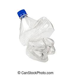 Smashed Plastic Bottle