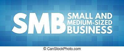 SMB - Small and Medium-Sized Business acronym