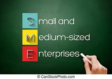 sme, -, 企業, 小さい, medium-sized, 頭字語