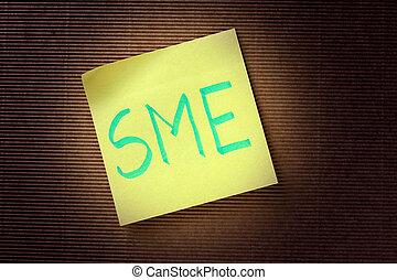 SME acronym