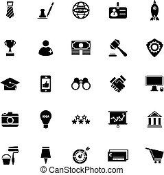 sme, fond blanc, icônes