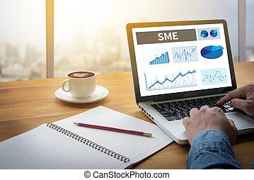 SME or Small and medium-sized enterprises Computing Computer...
