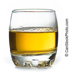 Sme scotch whiskey in small glass