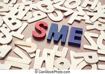 SME - Small and Medium Exterprise wording