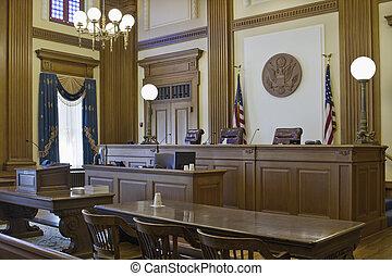 smeekbeden, 2, versieren, rechtszaal