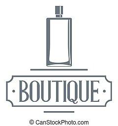 Smell logo, vintage style