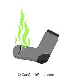 smell., stinky, fetid, désagréable, vert, sale, cloud., sock., stink.