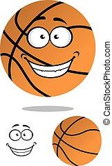 smil, basketball, cartoon, glade