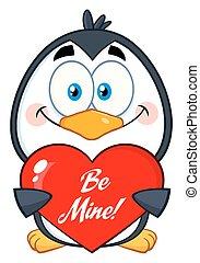 smil, karakter, pingvin