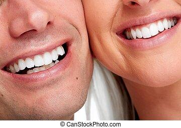 smile., 사람