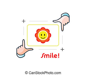 Smile and shot