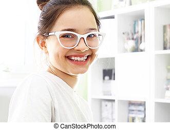 Smile, beautiful white smile