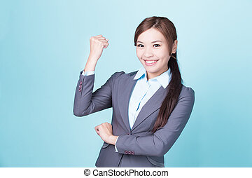 Smile business woman