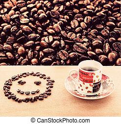 Smile Coffee and coffee mug