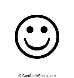 Smile Face. Happy bad normal good emoji vector. Vector circle face.