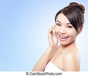 Smile Face of woman