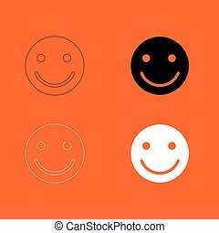 Smile icon .